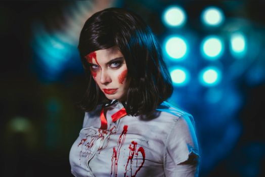 Elizabeth - Bioshock Burial at Sea by ThelemaTherion