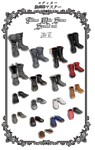 Tekken Male Shoes {Special set} by PMDMaster by PMDMaster