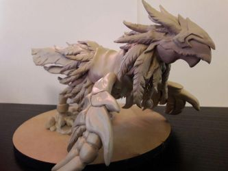 Raven Lord (World of Warcraft Sculpture) by Ikvite