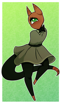 A Dress for Axle by SummaBadger