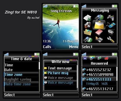 Zing for SE-W800 by xuhel
