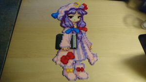 Touhou Character 6 - Patchouli Knowledge (redone) by MagicPearls