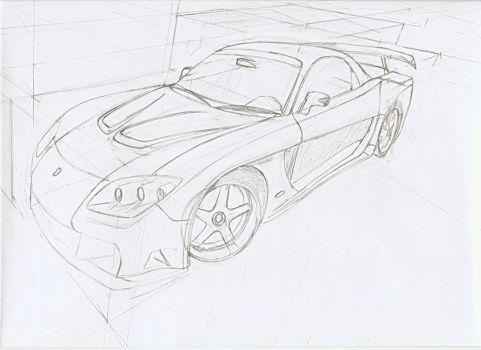 Han Mazda RX7 Veilside Fortune by ChazzReality-Wing