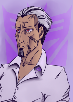 Daddy Megatron by Nartiifiice