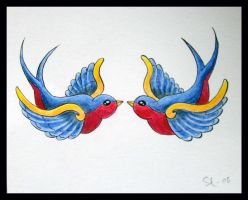 swallow by Gwendoline