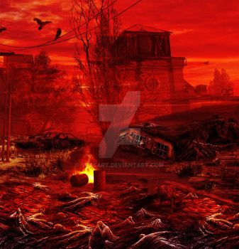 Apocalypse - The Day After by VessART