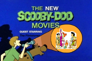 Scooby Doo and the gang meet Fred Flintstone, Barney ... |Scooby Doo Meets The Flintstones