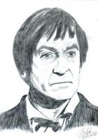 The Second Doctor observes by Ralphmax