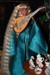 Beautiful elven lute player by Menkhar