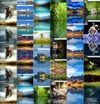 3-in-1 Water Reflection Photoshop Action by GraphicAssets