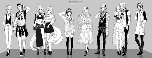 Fashion Commissions [OPEN] by ZenithOmocha