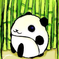 Little Panda by Isdelth