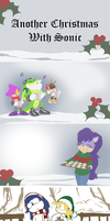 Another Christmas With Sonic by ArtByRiana