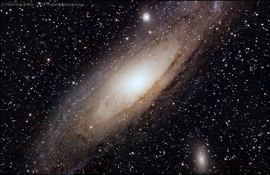 Andromeda with 150/750 refractor by Salahmi