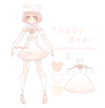 OTA - Teddybear adoptable [Open] Deadline added! by Miyunn
