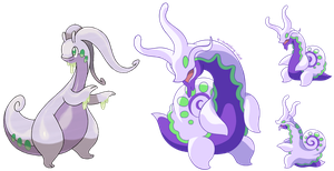 Goodra Redesign by A-Bumbling-Idiot