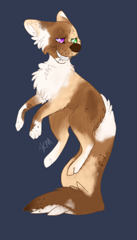 Red Merle by WolfAdopt5
