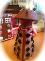 Gingerbread Dalek by NekoNutchi