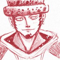 One Piece - Trafalgar Law by lunahaya