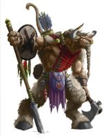Warcraft Tauren by Mogthar