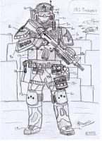 I.R.S Army General Infantry Soldier by Target21
