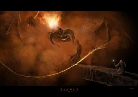 The Balrog of Moria by BlueRogueVyse