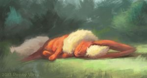 Afternoon nap by Penny-Dragon