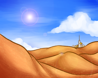 day 6: desert sands by NatanarihelLiat