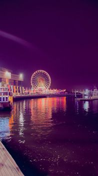 colorful night by Mahayni
