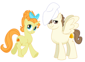 Pumpkin and Pound by MultiverseCafe