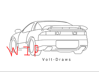 3000GT [WIP] by Volt-Draws