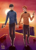 OTP Challenge Day 01 - Holding hands by Rory221B