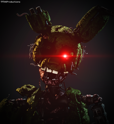 Ignited Springtrap by TF541Productions