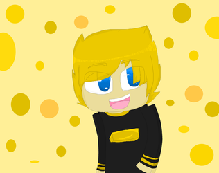 GoldSolace Fan Art by SuspendedInSpace