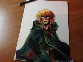 Armin - Attack On Titan by Freksama