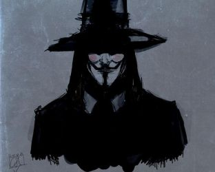 V for vendetta by ArcadiaX