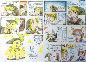 Young Elric brothers Pokemon TF (Part 2) by FezMangaka on