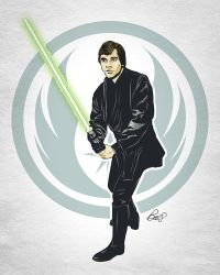 Luke Skywalker - Return of the Jedi by gravitydsn