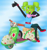 SPM: Mimi the Bike Racer by PuppyLuver
