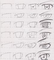 Manga Tutorial Male Eyes 01 by FutagoFude-2insROID