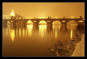 Night Prague I by semik