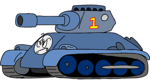 Thomas the TANK engine by superzachbros123