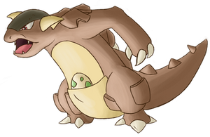 Rhea the Kangaskhan