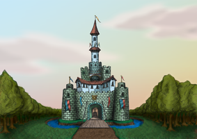 A castle for my goddaughter! by gusustavo