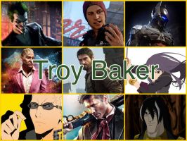 Troy Baker Characters by PhantomEvil