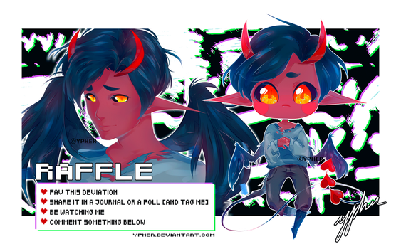 [RAFFLE]  -CLOSED- by ypher