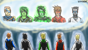 Ninjago Season Reflection by greengigal