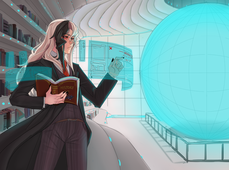 The Library by Astra-cat