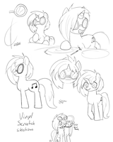 A. Vinyl S. Scratch K. Sketch by Dreatos