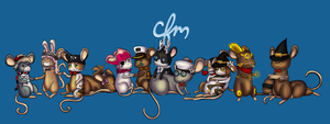 Cheese for Mice Staff - June 2012 by pompomball